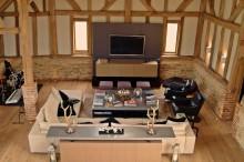 surrey barh living room