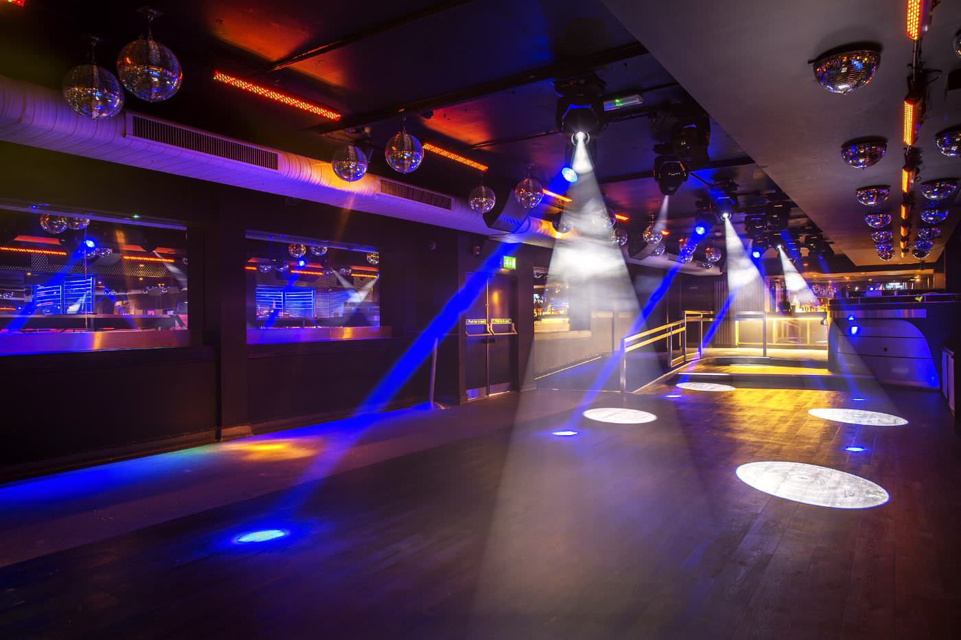 Ballare nightclub dancefloor